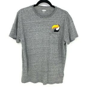 Old Navy Soft Washed Embroider Toucan Graphic Tee